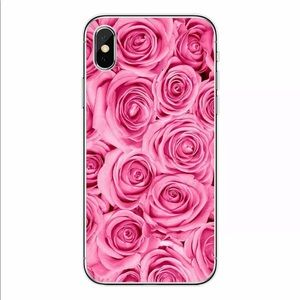 Pink Rose Floral IPhone Case for IPhone 7/8 Plus